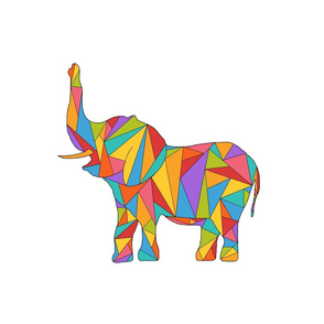 Polychromatic Elephant