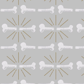 Bonafide Broken Bone Stripes Grey
