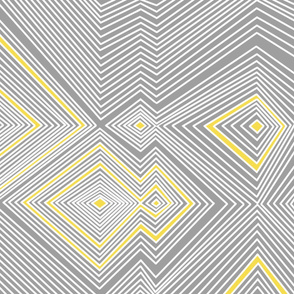 Yellow & Gray Lines