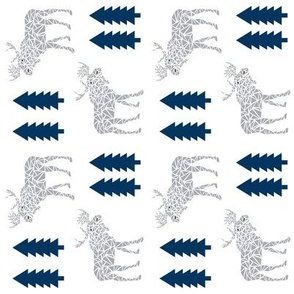 moose railroad fabric navy and grey nursery baby design