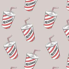 milkshake - grey