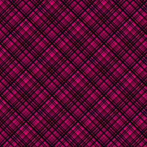Hawaiian Christmas Pink Plaid