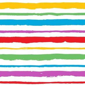 rainbow stripes
