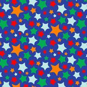 Alphabet Circus Starburst (blue)