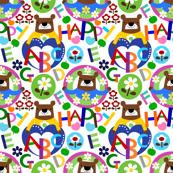 alphabet bear