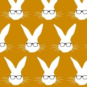 Geeky Bunny Mustard Gold