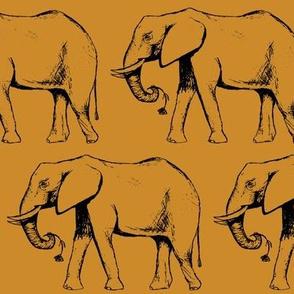 Elephant March Mustard
