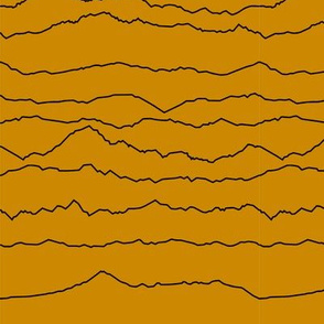 Mustard Mountain Ranges