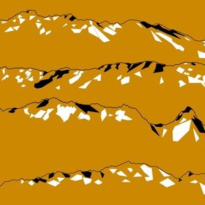Geometric Mountains Mustard Ranges