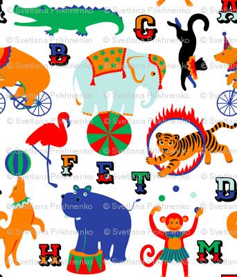 Circus Animals Alphabet