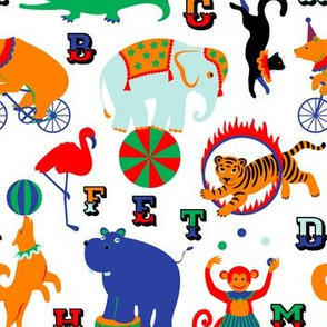 Circus Animals Alphabet