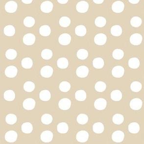 White Gumballs-on tan