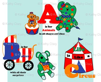 Baby Circus animals