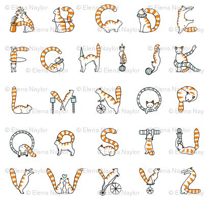 Cat Circus Alphabet small