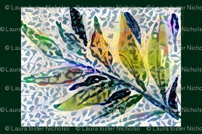 leaf_mosaic_towel