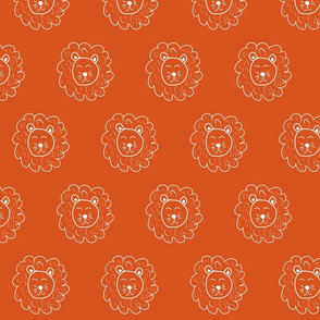 Orange Lions - Jungle