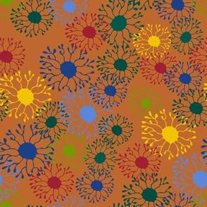 Ocean Pods - Orange/Brown