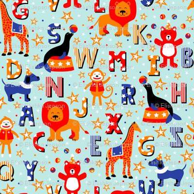Alphabet Animal Parade