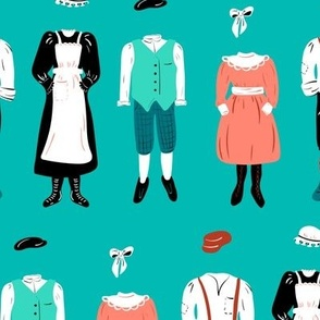 My Secret Garden Character Wardrobe