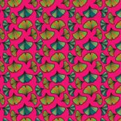 Pink Ginkgo Biloba