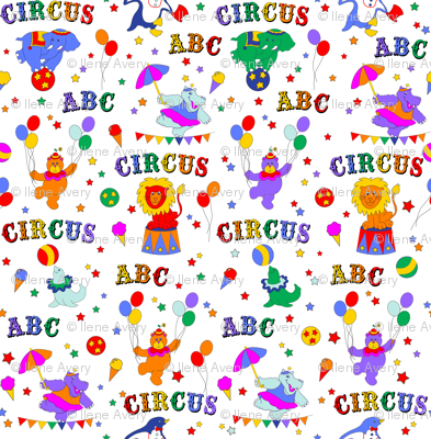 Circus Animals and Alphabets