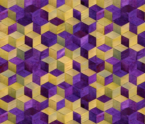 Triax_blossoms_and_dots_tile_gold_and_purple__spoonflower_dxopsp_copy_shop_preview