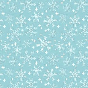 winter snowflakes fabric // christmas winter snowflakes holiday xmas winter designs cute holiday fabrics andrea lauren design andrea lauren fabrics