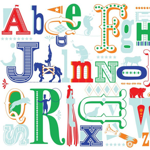 Big Top Alphabet