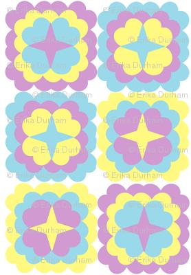 Lavender_Blue_Yellow_Retro_Flowers