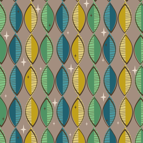 Tiki Surfboards fabric by robyriker on Spoonflower - custom fabric