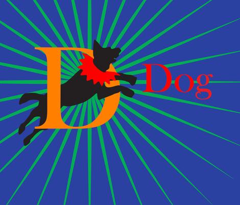 dog-01 fabric by blauganz on Spoonflower - custom fabric