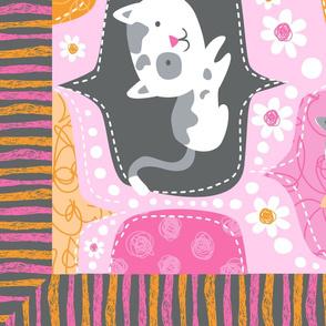 Kitty Minky Blanket