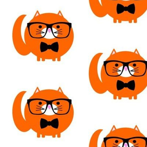 Hipster Fat Cat