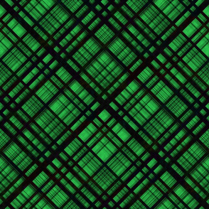 Hawaiian Christmas Plaid - Green large