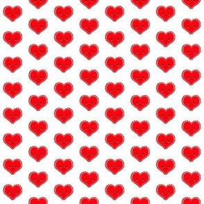 Kawaii Valentine Heart - Small