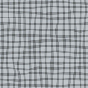 Gingham Gray on Gray