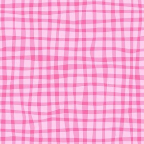 Gingham Pink on Pink