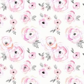 Blushing roses - Small