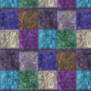 Aged Fleur de Lis (Blue)
