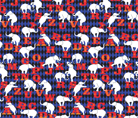 animal_alphabet fabric by lisahilda on Spoonflower - custom fabric
