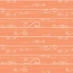Orange Beachwood Coordinating Design