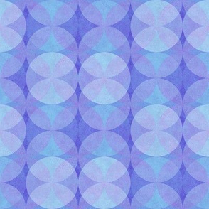 Textured Circles Purple 450