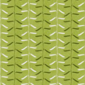 Pea Pod Stripe Green