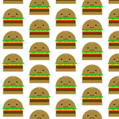 Fast Food Coordinating Hamburger