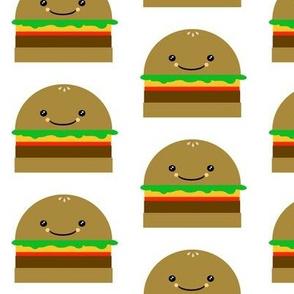 Fast Food Coordinating Hamburger