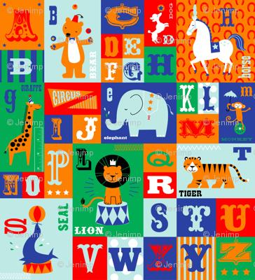 Big Top Alphabet
