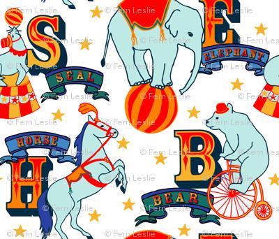 Alphabet  Animals Multi