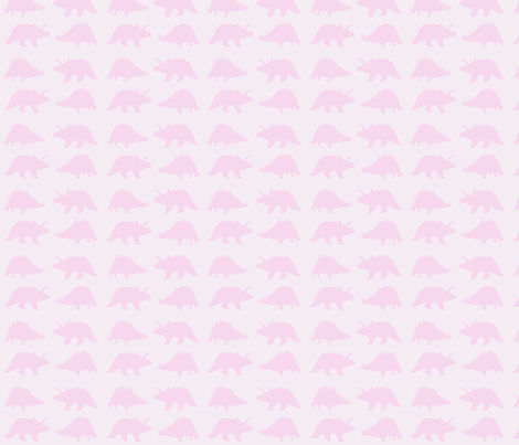 pink dinos fabric by lorose on Spoonflower - custom fabric