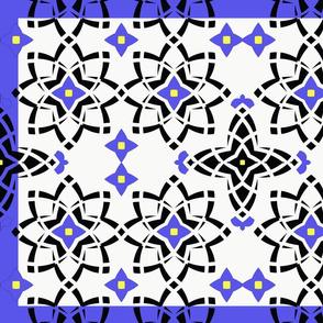 Mandela pattern tea towel