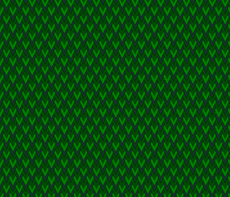 Diamond Scales Fullsize-Phthalo Green, Medium Green, Crayon Green fabric by playscalefabric on Spoonflower - custom fabric